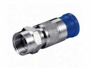 CONECTOR F MACHO METALICO 7MM CRIMPAR - PARA RG59 RG6