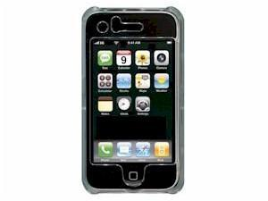 FUNDA RIGIDA TRANSPARENTE PARA IPHONE 3G Y 3GS